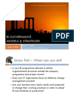 ETIS10 - BI Governance Models and Strategies