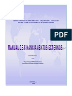 Manual de Financiamentos Externos