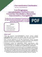 Programas Inconscientes Limitantes