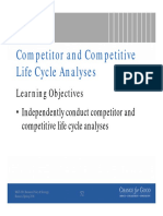 Competitor and CLC Analyses