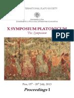 x Symposium Platonicum Proceedings 1