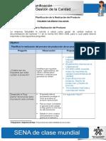 4 Actividad de Aprendizaje Unidad 4 Planificacion de La Realizacion Del Producto