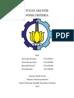 Noise Criteria