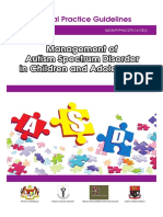 CPG Management of Autism Spectrum Disorder in Children and Adolescents