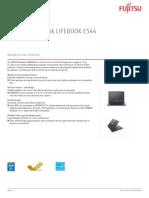 Fujitsu Notebook Lifebook e544