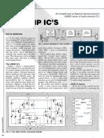 Audio PreAmp ICs