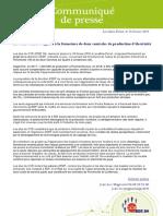 Communiqué de Presse CCE EDF