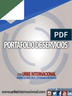 Brochure de Servicios de URBE Internacional