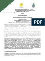 Convocatoria PsD Procesos Sintagmáticos