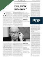 Entrevista a Samuel Hunting Ton. No Creo Que Sea Posible Exportar La Democracia
