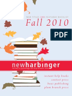 New Harbinger Fall 2010