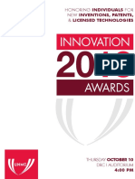 2013 Innovation Awards Program