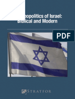 Geopolitcs of Israel - eBook Updated 160122