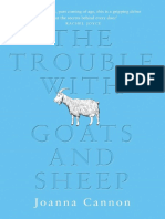 The Trouble with Goats and Sheep, by Joanna Cannon - Extract