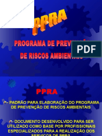 Ppra-programa de Prevenção de Riscos Ambientais - Roteiro