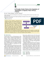 (2014) Guo, Et Al. Computer-based First-principles Kinetic Monte Carlo Simulation of Polyethylene Glycol Degradation in Aqueous Phase...