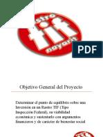 PLANOS COSTRUCTIVOS RASTRO TIPO TIF