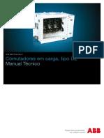 Manual Técnico de Manual Técnico de Comutadores em Carga