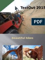presentation on testout 2015