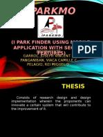 Iparkmo, thesis presentation