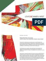 Levi's(R)XDamienHirst News Release Dec2008