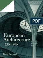01. Barry Bergdoll - European Architecture 1750-1890