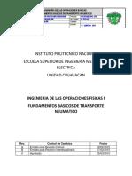 Fundamentos Basicos de Transporte Neumatico_IPN-ESIME