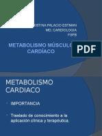 METABOLISMO MÚSCULO CARDÍACO