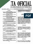 Sumario Gaceta Oficial 39.403