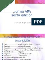 Norma APA Unica Diapositiva
