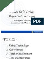 Cyber Safety presentation for teachers
