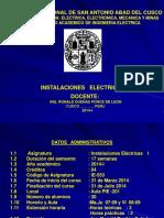 instalaciones electricas I