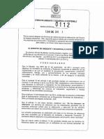 Resolucion 0112 de 2015 - EIA Construccion de Puertos Maritimos de Gran ...