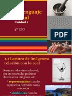 PV4º Unidad 1 - El Lenguaje Visual