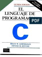 El Lenguaje de Programación C Ritchie-Kernighan 2Ed