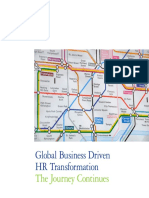Global Business Driven Hr Transformation