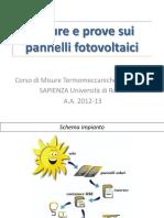 1726_misure e Prove Per Pannelli Fotovoltaici (Menr)