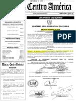 Dto. 1-2016 Se Aprueba El Convenio Suprimiendo La Exigencia de Legalización de Los Doc...
