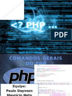 comandos gerais do php