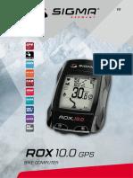 Sigma Rox 10-0-Gpsmanual Es