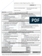 bill 157 incident reporting form - part i  feb2013