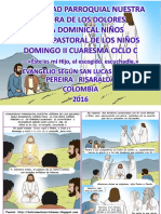 Hojita Evangelio Domingo II Cuaresma c Serie