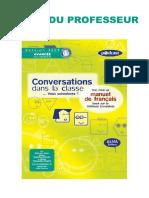 Livre Du Professeur Conversation Et Grammaire