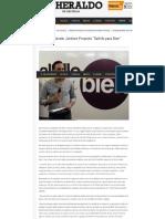 """16-02-17 Presenta Manolo Jiménez Proyecto """"Saltillo para Bien"""""""