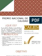 2.2 Premio Nacional de Calidad