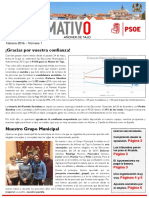 Boletín PSOE Añover. Febrero 2016