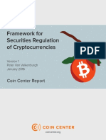 Coin Center - Securities Framework for Regulators