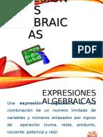Expresion Es Algebraic As