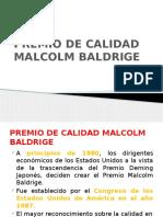 Premio de Calidad Malcolm Baldrige