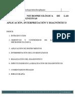Aplicacion e Interpretacion de Diagnostico